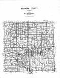 Index Map, Mahaska County 1994 - 1995